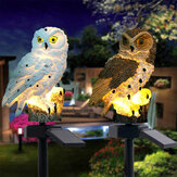 Zonne-energie LED uil gazon licht Home Outdoor Yard landschap tuin Lamp waterdicht
