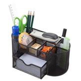 9 Многофункциональный стол для хранения Органайзер Металлическая сетка для хранения Ручка Держатель Канцелярский контейнер Коробка Офис