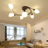 Современный потолочный светильник Главная Спальня Кулон Люстры Лампа Светильник