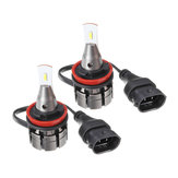 SEALIGHT L2P Mini Car LED Lampadine per fari H4 H7 H11/H8/H9 9005 9006 Fendinebbia 60W 5000LM 6000K 2PCS