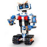 मोल्ड किंग DIY स्मार्ट आरसी रोबोट 2.4G ब्लॉक बिल्डिंग प्रोग्रामेबल एपीपी / स्टिक / वॉयस कंट्रोल असेंब