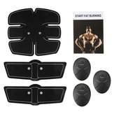 6pcs Electric Muscle Training Gear Abdomen Shoulder Sticker