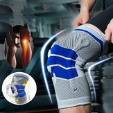 Running Fitness Mountaineering Silicone Knit Spring Knee Pad
