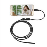 Bakeey AN97 5.5mm Micro USB 6 LED Telepon Mini HD Kamera Endoskopi Kabel Data Inspeksi Borescope Untuk Samsung