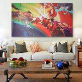 120x60cm Abstrakcyjne tętnienie na płótnie Reprodukcja obrazów olejnych Obraz na ścianie Wystrój domu