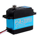 DSSERVO DS3225SG 25KG 180 ° / 270 ° Coreless Waterdichte Metal Gear Digital Servo voor Baja Cars 1/8 1/10 1/12 RC Cars