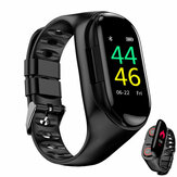 KALOAD 2 in 1 BT Hoofdtelefoon Smart Watch IP67 Waterdichte BH PR-monitor Stappenteller Sport Fitness armband