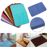 Memory Foam Rug Bathroom Bath Mat Bedroom Non-slip Mats Shower Carpet 40cm*60cm