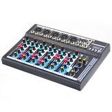 7 Channel Professional bluetooth Audio Mixer 6 Kinds of Music Modes USB Plug High Bass Mixing Console