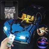 DIY LED Kit d'éclairage léger pour LEGO 42083 Bugatti Chiron Technic Set avec télécommande