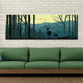 DYC 10683 Single Spray Oil Paintings Cartoon Deer Forest Landscape For Home Decoration Paintings Wall Art