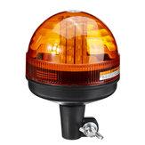 Ambra 40 LED 12V-24V Avviso di emergenza Flash Luce di segnalazione lampeggiante a LED per trattore rotante