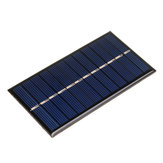 5pcs 6V 1W 60*110mm Polycrystalline Mini Solar Panel Epoxy Board for DIY Learning