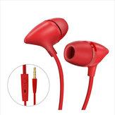 Uiisii C100 In-ear cuffia Bass Stereo 3.5mm Music Auricolare Con microfono per PC Android