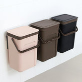 Kitchen Trash Can Wall Mounted Hanging Waste Bins for Bathroom Toilet Waste Storage