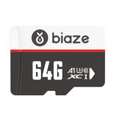 BIAZE 64GB/128GB/256GB Memory Card High Speed TF Card Data Storage Micro SD Card for Car Driving Recorder Security Monitor Camera