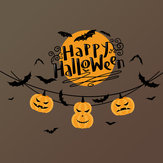 Miico XL625 Cartoon Sticker Halloween Sticker Wall Sticker Room Decoration - Trick Or Treat Pumpkin