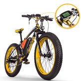 [EU Direct] RICH BIT TOP-022 26'' 48V 17Ah 1000W Electric Mountain Bike 21 Speed  Electric Bike 35km/h Top Speed 60km Mileage Range Max Load 185kg