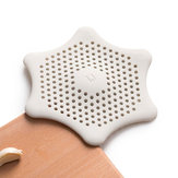 Jordan&Judy Silicone Filter Sink Strainer Filter Water Stopper Floor Drain Hair Catcher Bathtub Plug Bathroom Kitchen Basin Stopper