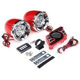 Altoparlante stereo per amplificatore stereo FM Radio FM bluetooth 5.0 con manubrio da moto