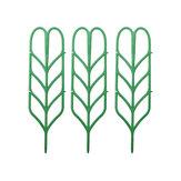 3pcs flor Planta crescente suporte treliça de suporte de quadro Plantas escalada diy rack de videira ferramenta