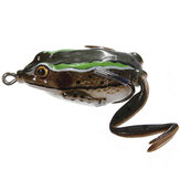 ZANLURE Crankbaits Tackle Baits Ray Frog Fishingは淡水ベース40mmを魅了します