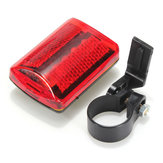 5 LED Bicicleta Tail Light Bicicleta Red Flashlight Rear Lamp 7 Mode