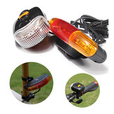 3-in-1 7 LED Indicatore ciclismo turno segnale del freno luce corno warn
