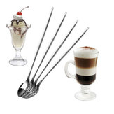 Stainless Steel Long Spoon Coffee Latte Ice Cream Cocktail Scoop