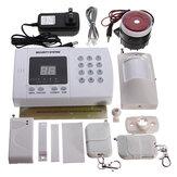 Wireless Auto Dial Phone Burglar Home Security Alarm System