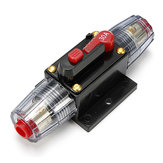 30A Car Audio Circuit Breaker Inline Fuse for 12V System Protection