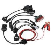 8 fios dos carros de adaptador de autocom cdp pro fio de interface diagnóstico