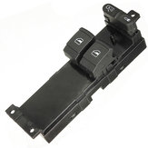 2 Door Driver Side Master Panel Power Window Switch For VW Golf