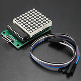 2Pcs MAX7219 Dot Matrix MCU LED Display Control Module Kit Geekcreit for Arduino - products that work with official Arduino boards