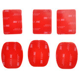 3M sticker Set(6 pcs)for Gopro Helmet Mount HD ST-14