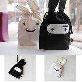 Mini-mignon de ninja lapin sac de rangement cas poche 34 x 21cm