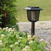Solar Powered Mosquito Pest Zapper Lantern LED Lamp Light