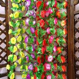1 строка моделирования искусственными цветами арки свадебные украшения стены