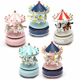 Karuzela dla dzieci Music Box Merry Go Round Musical Devolopment Toys Room Decor