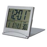Pendulette date du calendrier réveil numérique centigrades Fahrenheit therm