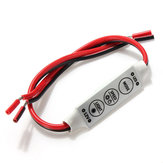 Ściemniacz kontrolera LED do 3528 5050 Sinlge Color Car LED Strip DC12V