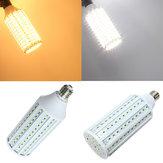 E27 40w blanc / blanc chaud 5630 cms 165 LED maïs 220v lumière
