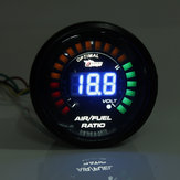 2 Inch 52MM 20 LED Digital Car Air Fuel Ratio Monitor Racing Gauge
