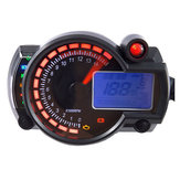Adjustable Motorcycle Digital Speedometer LCD Digital Odometer