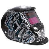 El automóvil que oscurece la soldadura solar que muele el casco forma un arco tig mig máscara del soldador