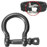 Zinc alloy Paracord Survival Bracelet Shackle
