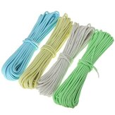10ft 3m luminosità luminosa Nylon Paracord Paracadute corda multifunzione per Outdooors