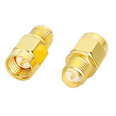 5/10/20 pcs SMA Male To RP-SMA Female RF Coaxial Adapter Connector Antenna Plug