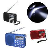 T508LEDEstéreoRádioFMSpeaker USB TF Cartão MP3 Player de Música