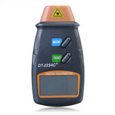DANIU DT2234C+ Digital Laser RPM Tachometer Non Contact Measurement Tool